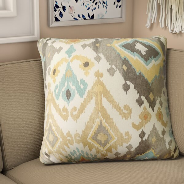 Pineville Fabric Indoor/Outdoor Throw Pillow (Set of 2) by Bungalow Rose