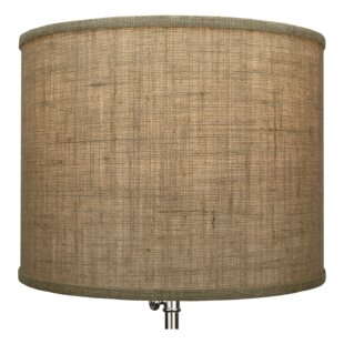 Best Reviews 14 Burlap Drum Lamp shade By Fenchel Shades