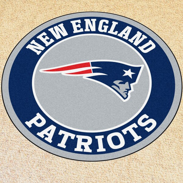 NFL New England Patriots Roundel Mat by FANMATS