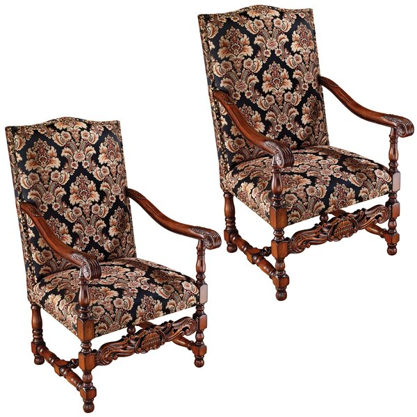 Milton Manor Armchair (Set of 2) by Design Toscano