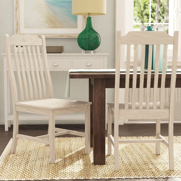 Wembley Solid Wood Dining Chair (Set Of 2) By Beachcrest Home #2