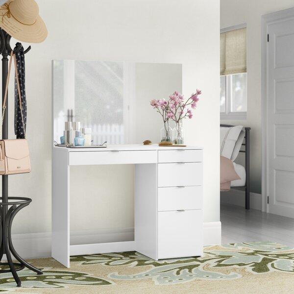 Corrado Vanity With Mirror By Ebern Designs