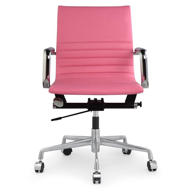Vegan Leather Office Chair Amp Reviews Allmodern