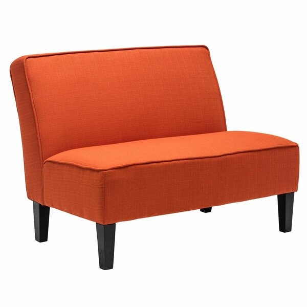Devair Armless Loveseat by Ebern Designs