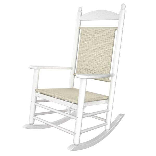 Jefferson Woven Rocking Chair by POLYWOOD®