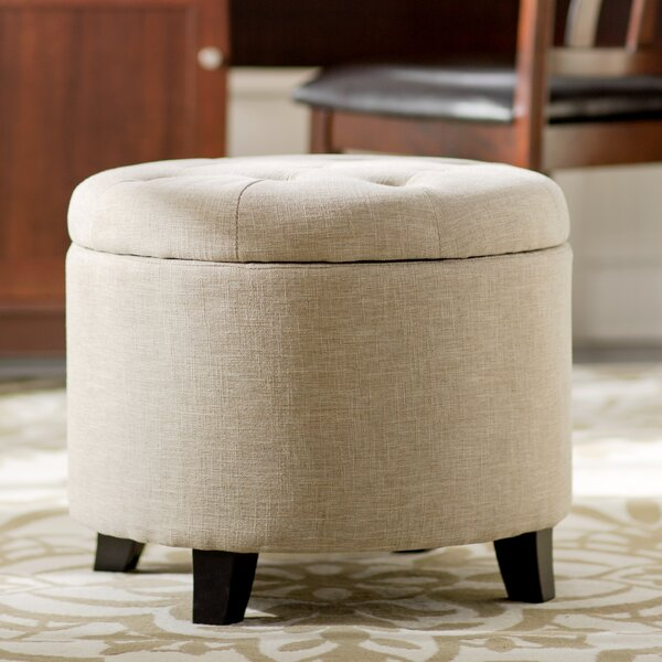 Tufted Storage Ottoman by Andover Mills