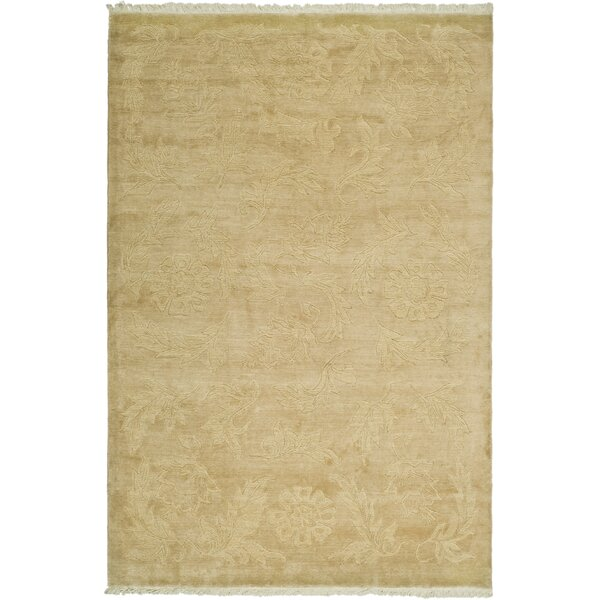 Green / Gold Rug by dCOR design