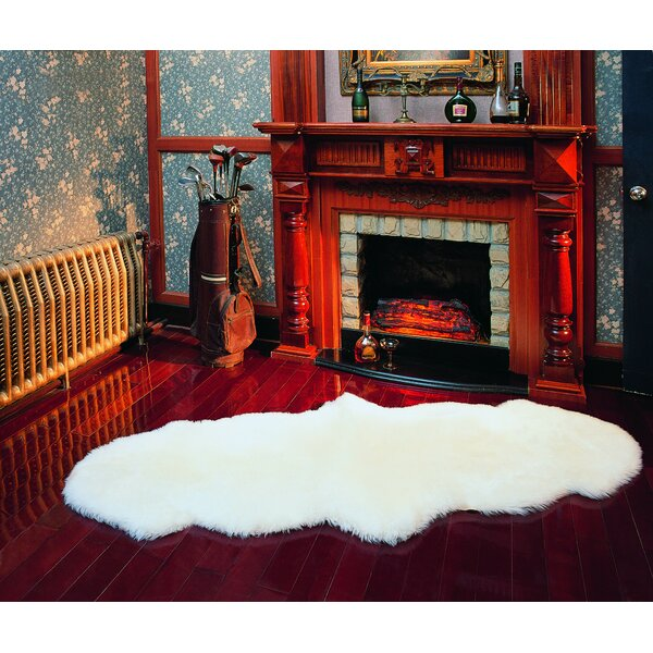 Edoardo Sheepskin Natural Area Rug by Willa Arlo Interiors