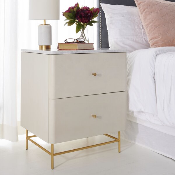 Stromsburg 2 Drawer Nightstand by Brayden Studio