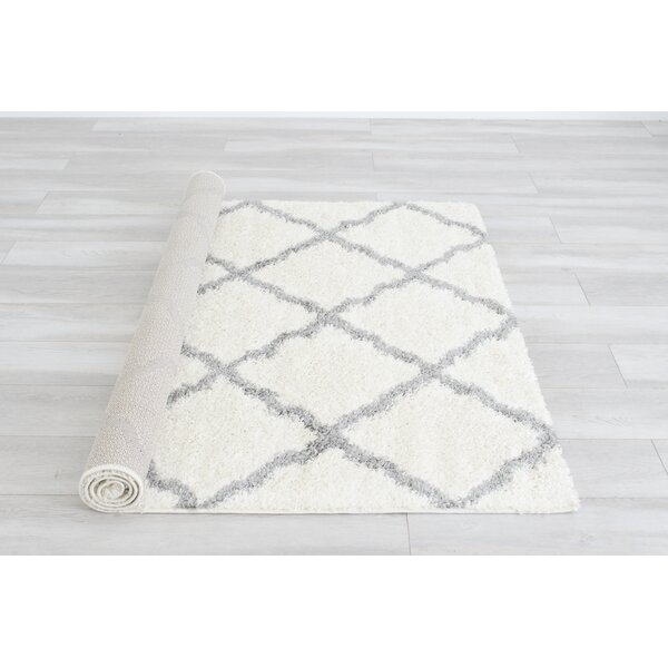 Belgrave Ivory/Gray Area Rug by Ivy Bronx
