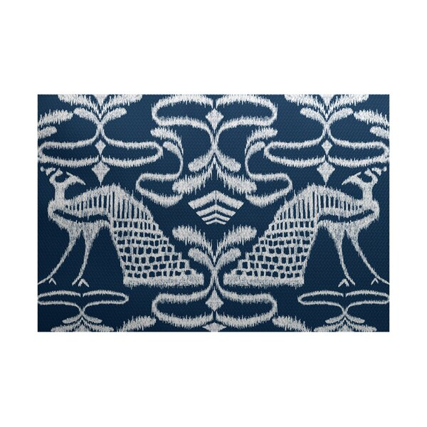 Selina Blue Indoor/Outdoor Area Rug by Red Barrel Studio