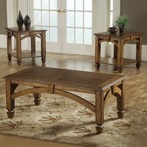 Arch Design 3 Piece Coffee Table Set by Bernards