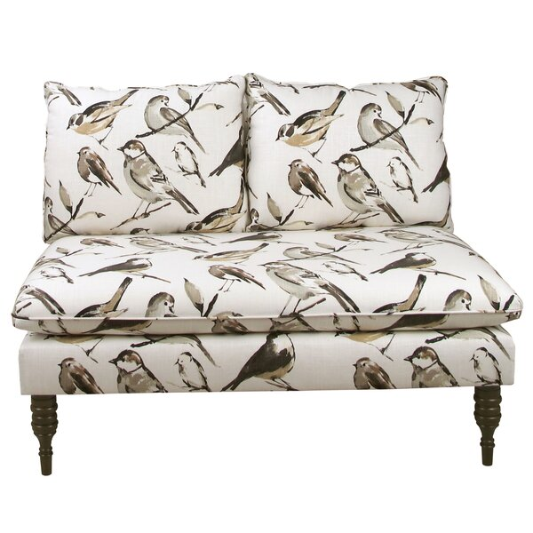 Perfect Quality Ossian Loveseat by Alcott Hill by Alcott Hill