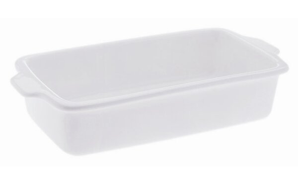 White Basics Rectangular Baker (Set of 2) by Maxwell & Williams