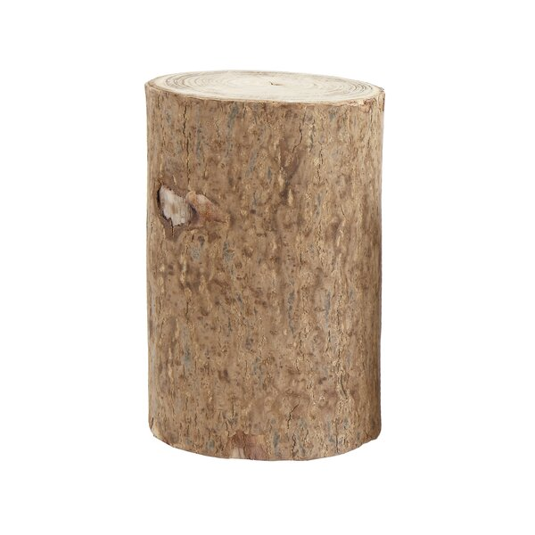 Jaquish Pedestal Plant/End Table by Union Rustic