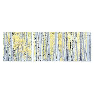 'Golden Grove' Photographic Print Multi-Piece Image on Canvas by Loon Peak