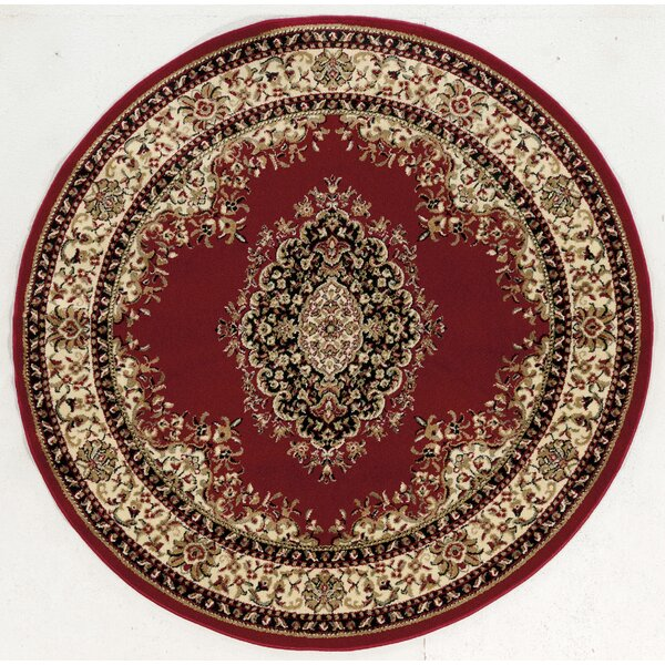 Arradale Red Area Rug by Astoria Grand