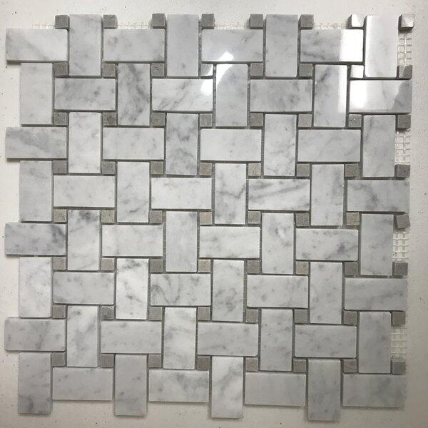 Marble Mosaic Tile (Set of 20)