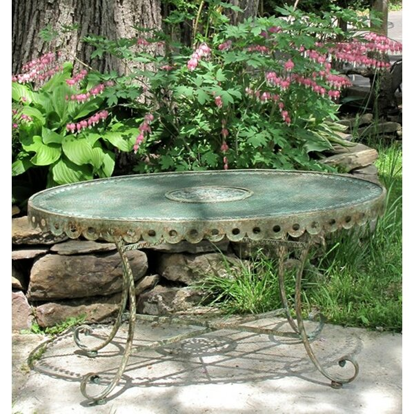 Kamm Victorian Metal Bistro Table by Ophelia & Co.