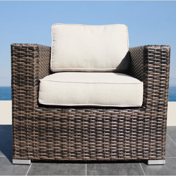 Darvin Patio Chair With Cushion By Sol 72 Outdoor