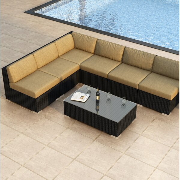 Azariah 7 Piece Sectional Set with Cushions by Orren Ellis