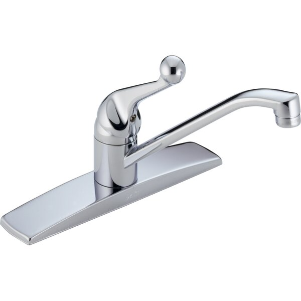 Single Handle Centerset Kitchen Faucet by Delta