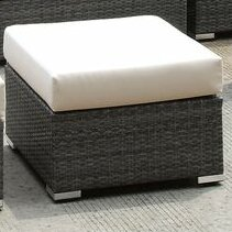 Peters Ottoman with Cushion by Brayden Studio