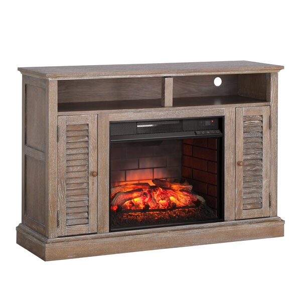 Jeske Infrared 48 TV Stand with Electric Fireplace by Ophelia & Co.