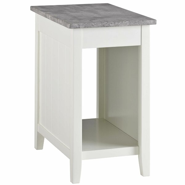 Brockman End Table With Storage By Gracie Oaks