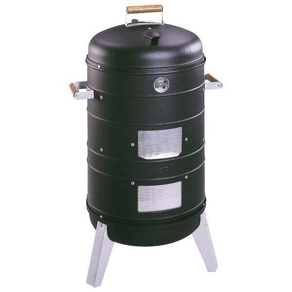 Southern Country 2 in 1 Combo Charcoal Smoker and Grill by MECO Corporation