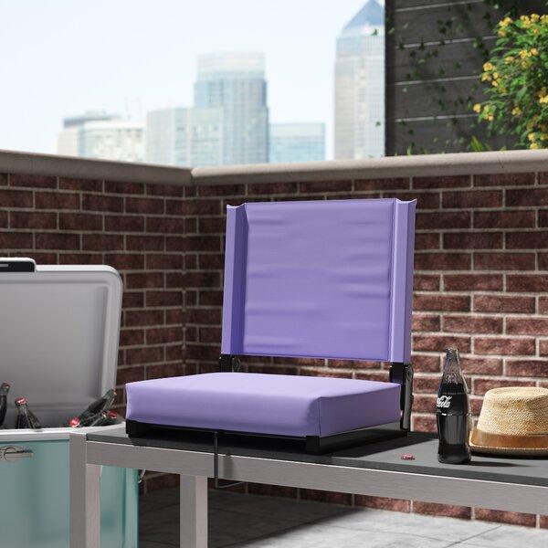 Aubine Folding Stadium Seat with Cushion by Freeport Park Freeport Park