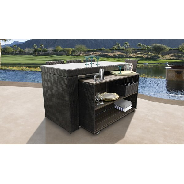 Tegan 7 Piece Bar Set by Sol 72 Outdoor