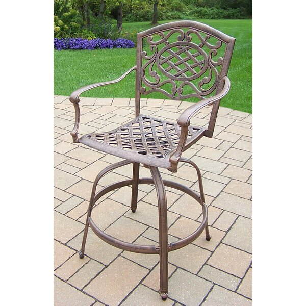 Mississippi 45.75 Patio Bar Stool (Set of 2) by Oakland Living