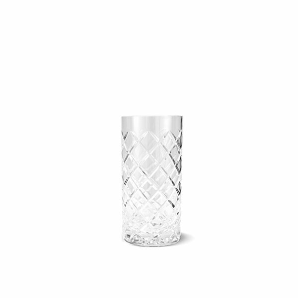 Rich 14 oz. Glass Highball Glass (Set of 6) by August Grove