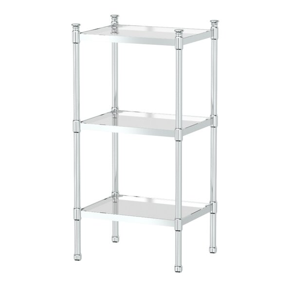 14.25 W x 28.25 H Bathroom Shelf by Gatco