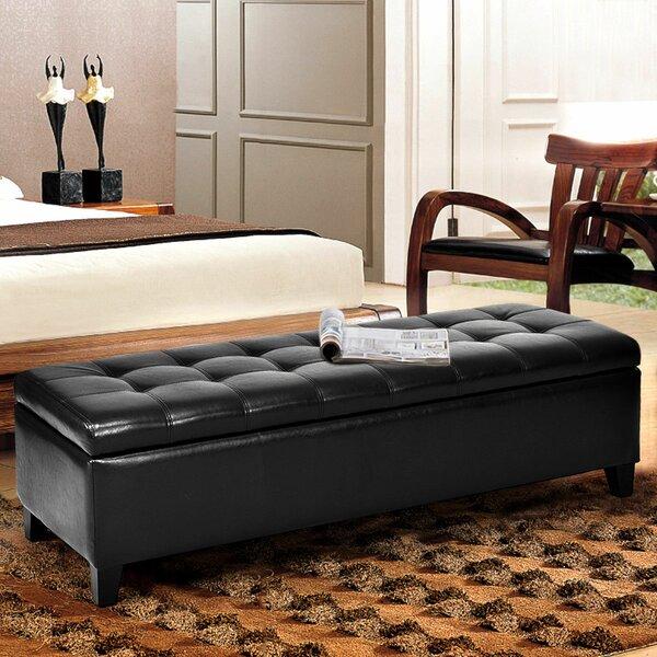 Malakai Wood Storage Bedroom Bench by Winston Porter