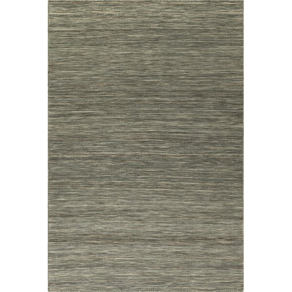 Huie Hand Woven Wool Fog Area Rug by Gracie Oaks