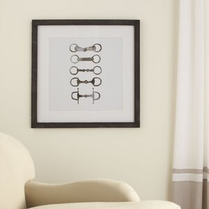 Bridle Bit Framed Print by Birch Lane™