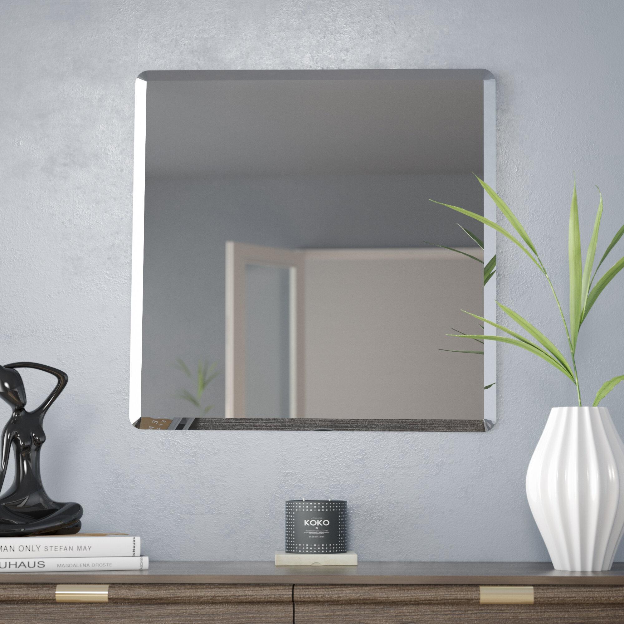 Modern Contemporary Interior Design burris modern & contemporary beveled vanity mirror