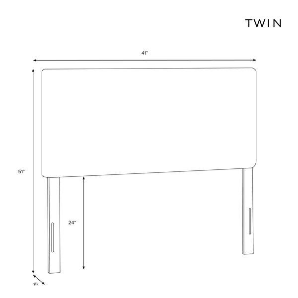 Terrio Box Seam Linen Upholstered Panel Headboard by Brayden Studio Brayden Studio