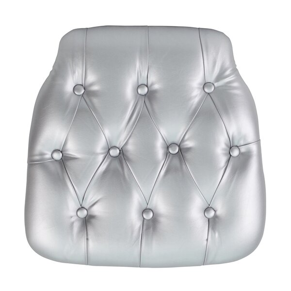 Chiavari Tufted Vinyl Seat Cushion by Offex