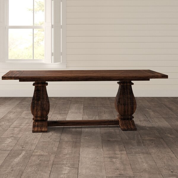 Calila Solid Wood Dining Table by Birch Lane Heritage Birch Lane™ Heritage