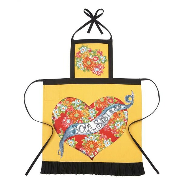 Julia Junkin Soul Sister Apron by Peking Handicraft