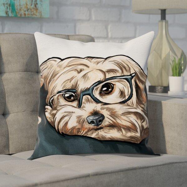 Faria Lazy Days Throw Pillow by Brayden Studio