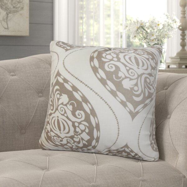 Jessica Floral Throw Pillow by August Grove