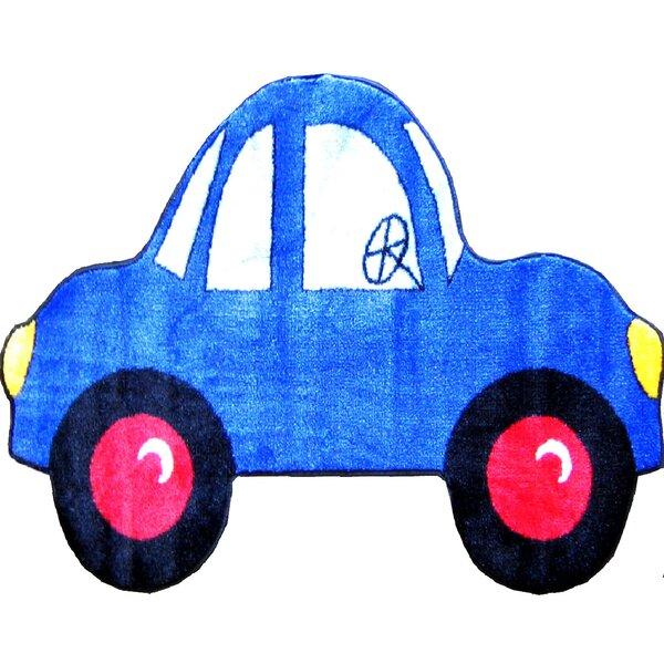 Fun Shape High Pile Car Area Rug by Fun Rugs