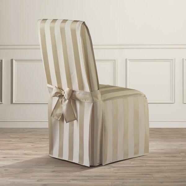 Beau Astoria Grand Polyester Parson Chair Slipcover U0026 Reviews   Wayfair