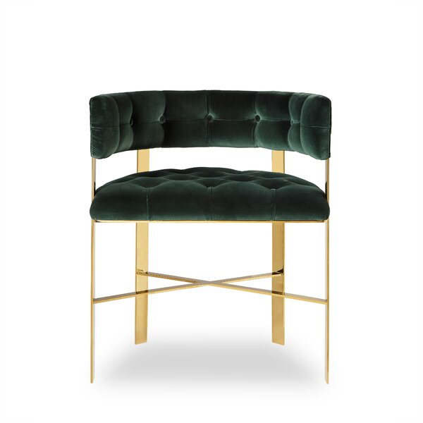 Art Dining Tufted Barrel Chair by Sonder Living