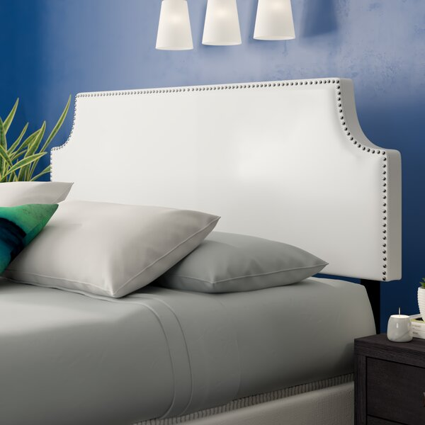 Portis Upholstered Panel Headboard by Andover Mills Andover Mills