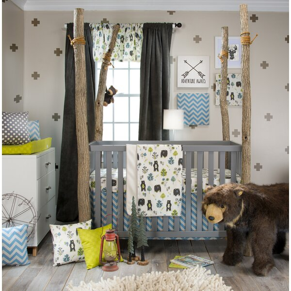 Algoma 3 Piece Crib Bedding Set by Harriet Bee